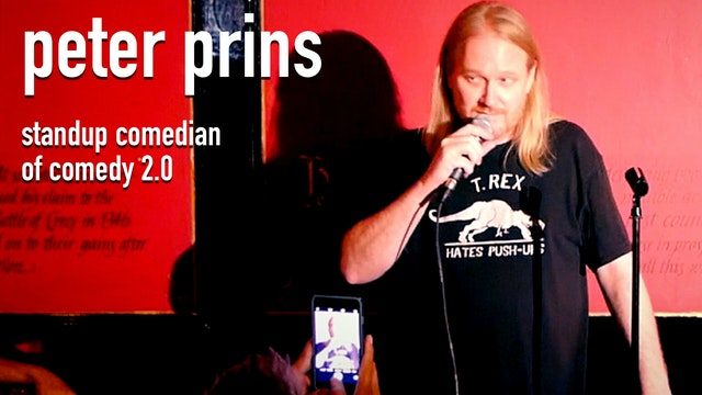 Peter Prins. Standup Comedian of Comedy 2.0