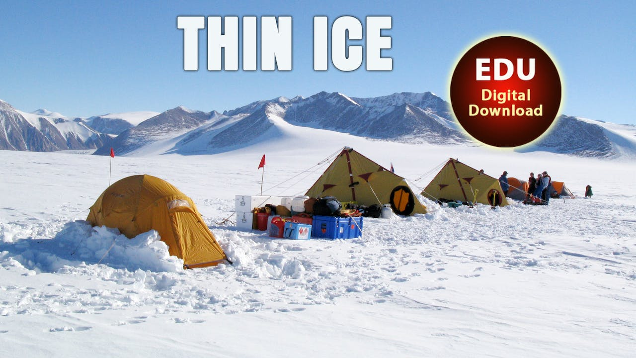THIN ICE The Inside Story of Climate Science  (73 min) - EDU