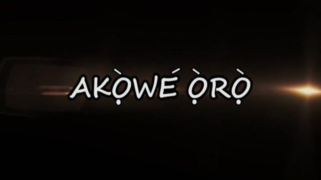 Akowe Oro