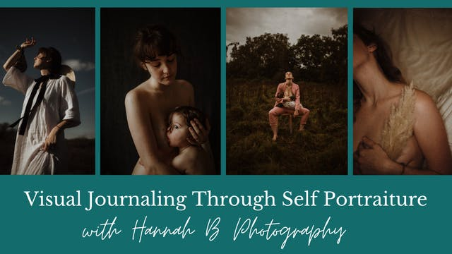Visual Journaling Through Self Portraiture