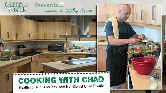 Cooking with Chad