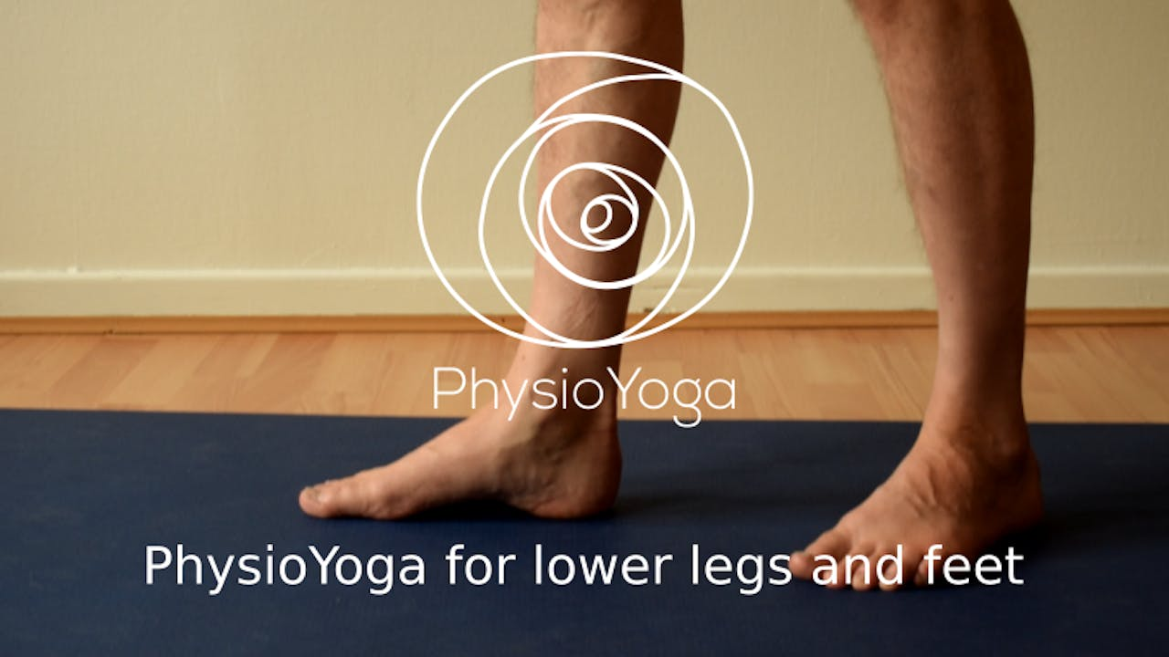 PhysioYoga Workshop for lower legs and feet