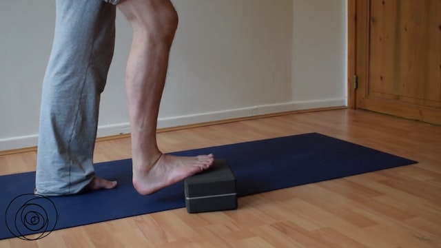 Peroneus activation / activation outside lower leg