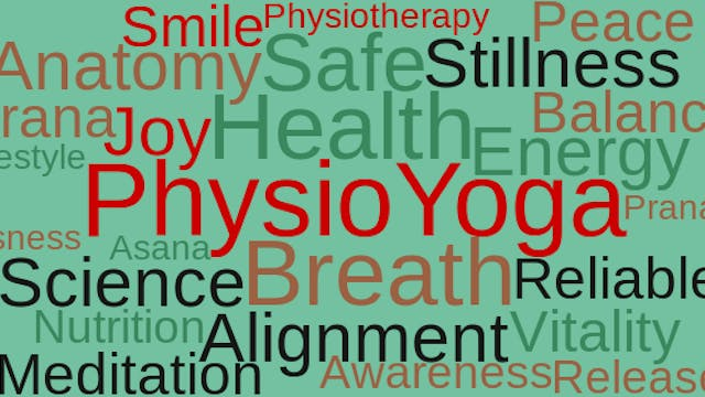PhysioYoga - volledige online workshop