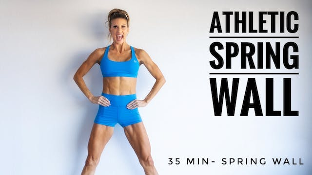 Athletic Spring Wall