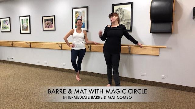 BARRE & MAT W/ RING - INTERMEDIATE