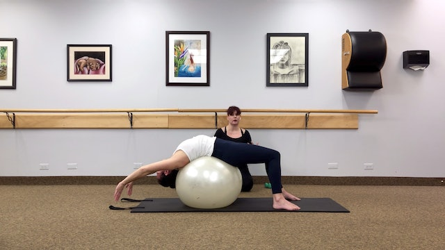 ARMS AND ABS - STABILITY BALL AND WEIGHTS - FUNDAMENTAL