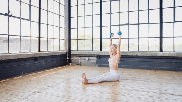 35min Pilates with Toys - Hand Weights