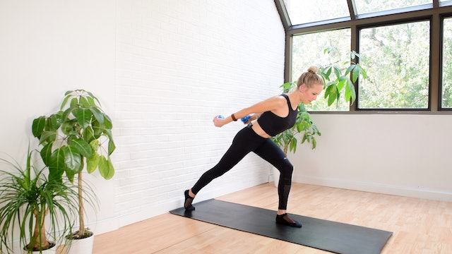 20 min Pilates Body Workout with Toys - Toning Weights