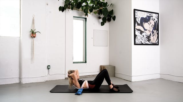 25 min Pilates 101 with a towel