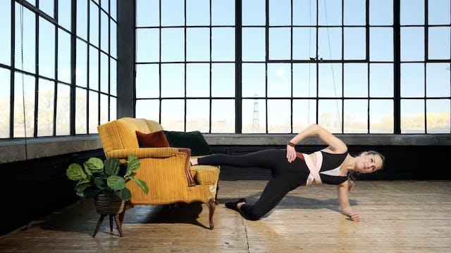 Pilates Body Workout with Toys - Sofa...