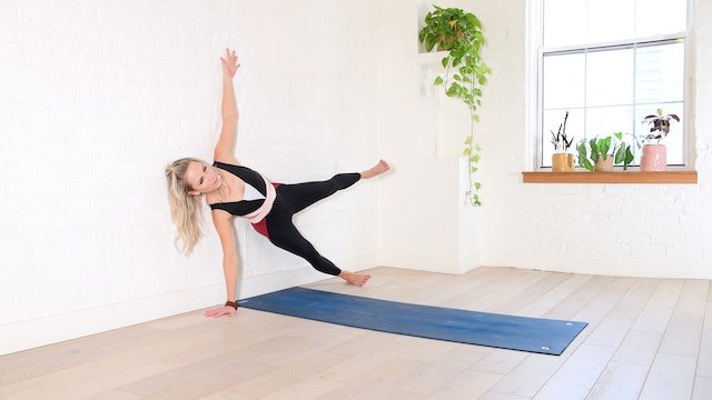 Hardcore Pilates Body Workout at the Wall