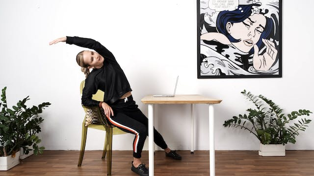 The Big Stretch at your Desk
