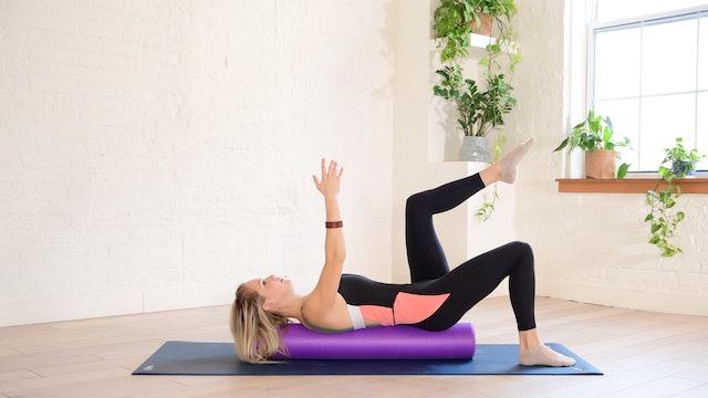27 min Pilates Body Workout on the Foam Roller