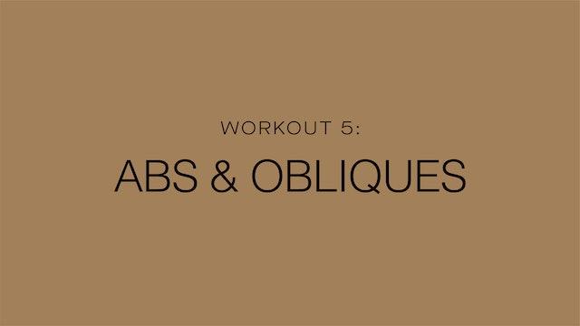 Workout 5: Abs & Obliques