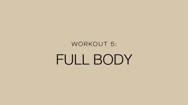 Workout 5: Fully Body