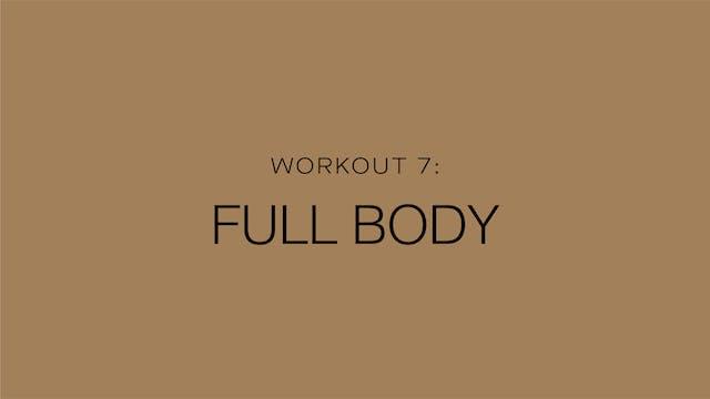 Workout 7: Full Body