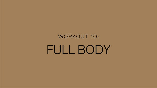 Workout 10: Full Body