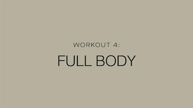 Workout 4: Full Body
