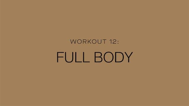 Workout 12: Full Body