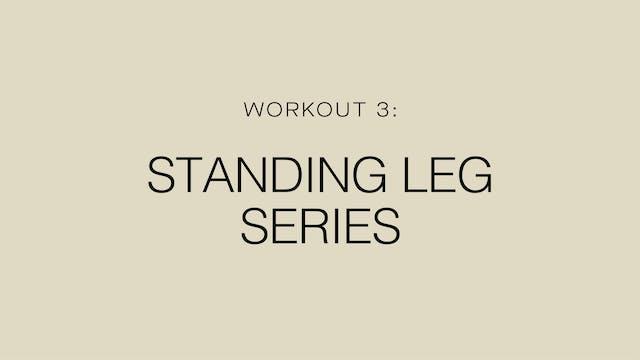 Workout 3: Standing Leg Series