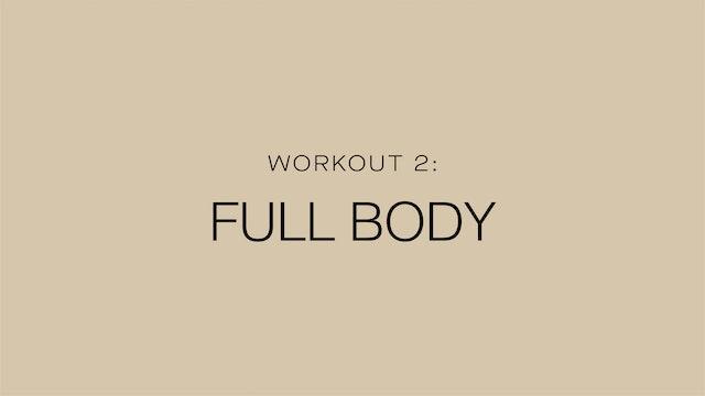 Workout 2: Full Body