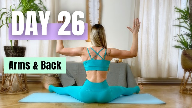 DAY 26_Arms and Back Workout