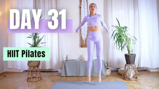 DAY 31_HIIT Pilates