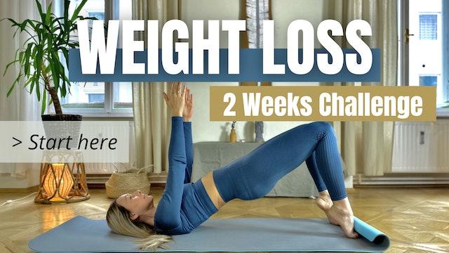 START HERE / Weight Loss Challenge