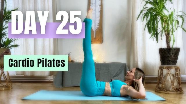 DAY 25_Cardio Pilates_30 min