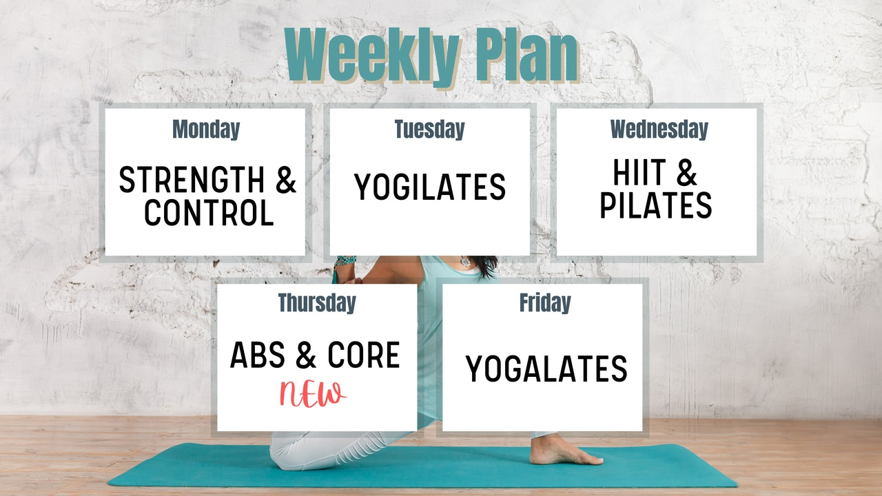 Weekly Plan 🗓️