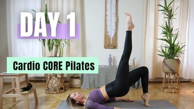 DAY 1_Cardio Core Pilates