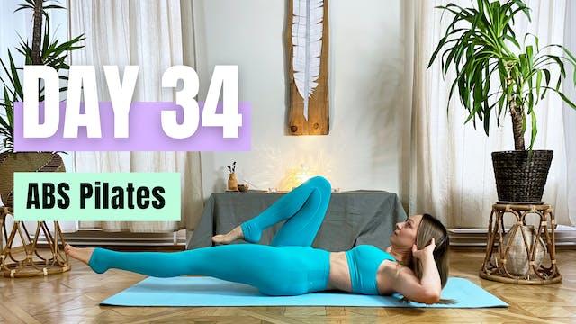 DAY 34_ABS Pilates class