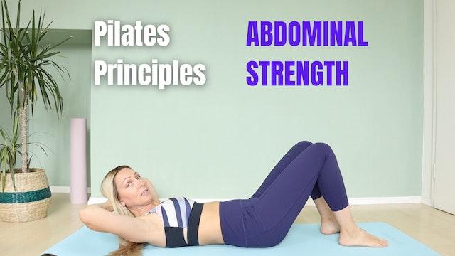 Pilates Movement Principles - Abdominal Strength