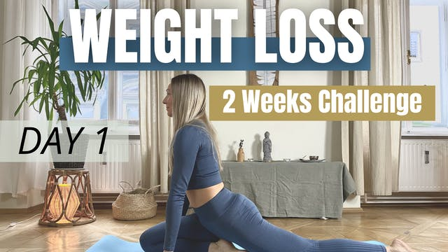 DAY 1 / Weight Loss Challenge