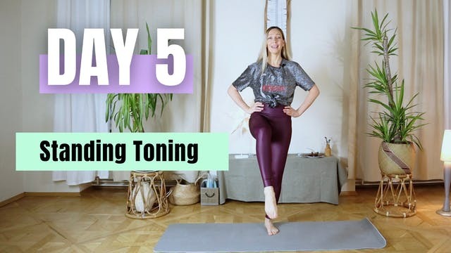 DAY 5_Standing Toning Pilates Workout...