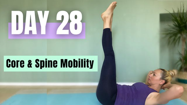 DAY 28_FULL BODY PILATES WORKOUT CORE...