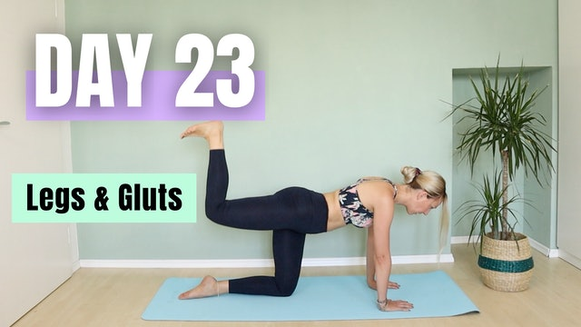 DAY 23_Legs and Glutes