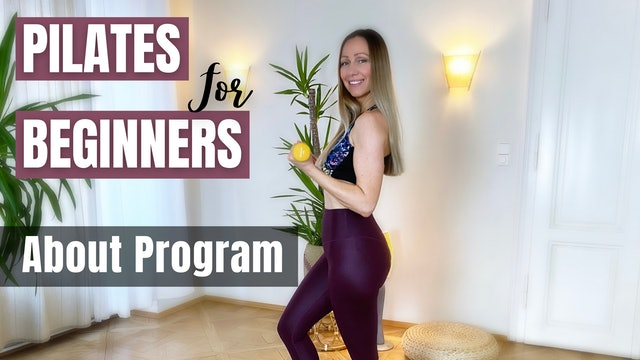 Pilates for Beginners_About Program