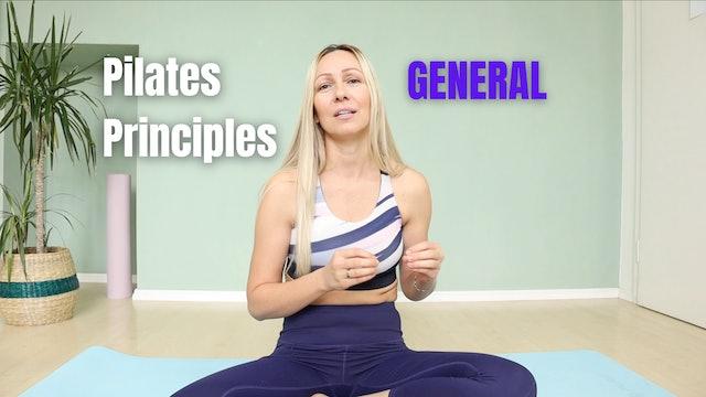 General Pilates Principles