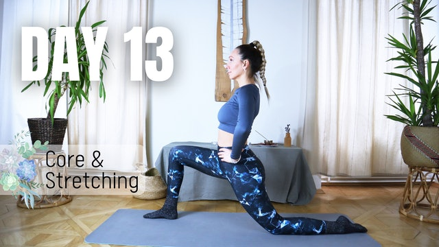 DAY 13_Stretching and Core Strengthening