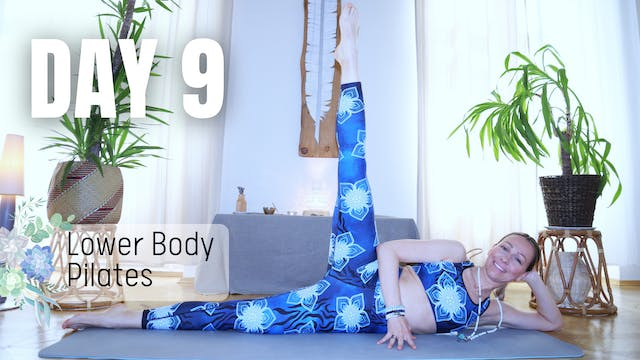 DAY 9_Lower Body Pilates Workout