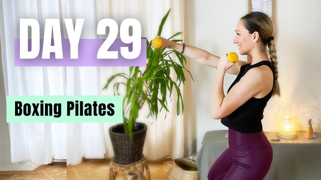 DAY 29_Pilates Boxing Workout