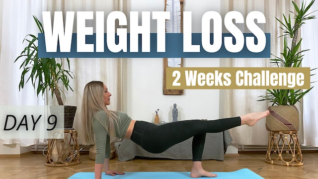 DAY 9 : Weight Loss Challenge