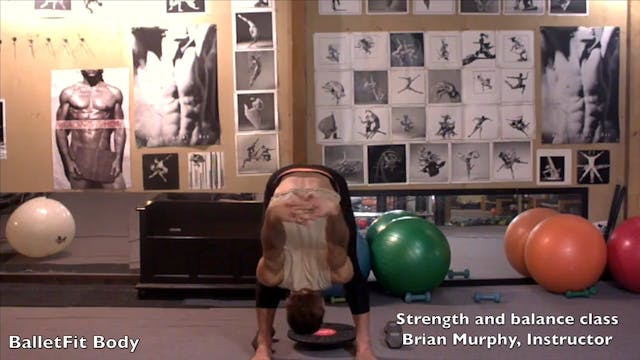 Strengthening and Balance class by Brian