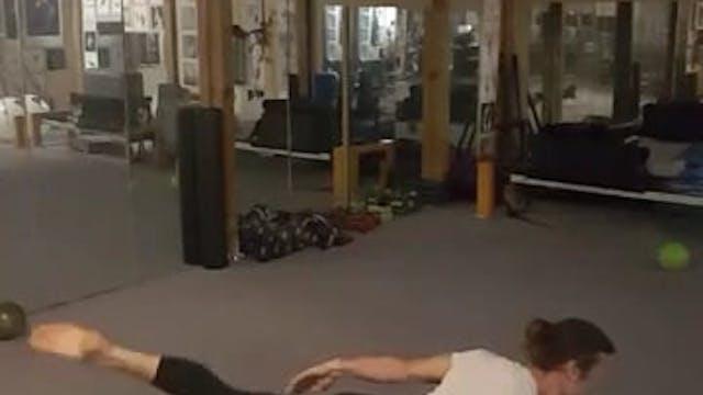 Aerobic mat class