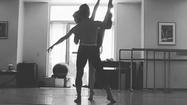 Duet with regina  Brian Murphy choreography