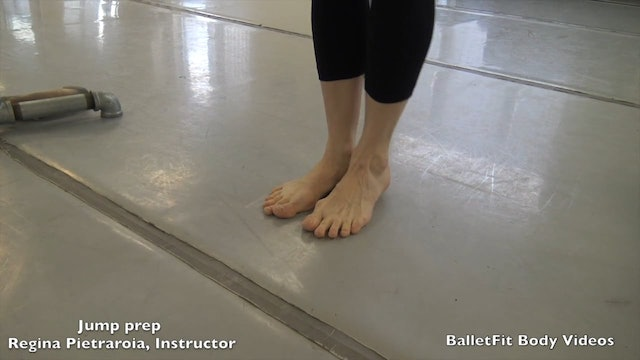 Ballet Fundamentals with Regina:  Feet strengthening