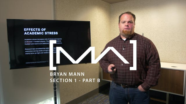 Bryan Mann - Section 1 - Part B