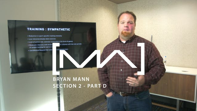Bryan Mann - Section 2 - Part D